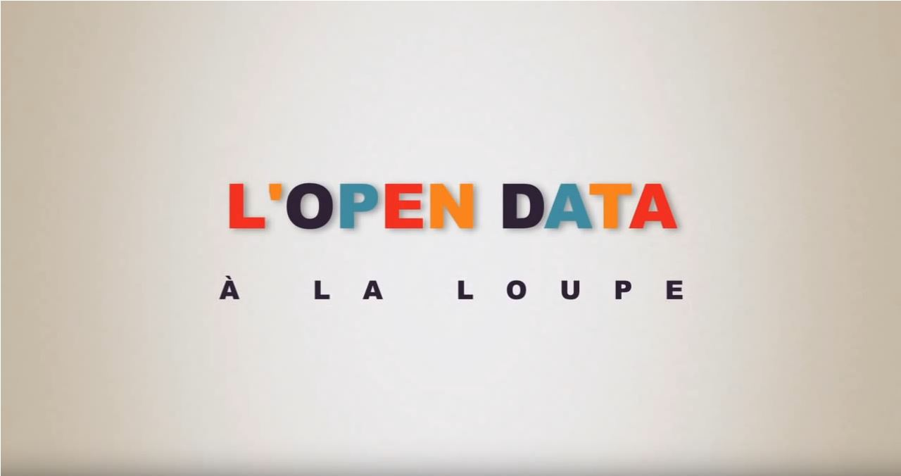 l'open data à la loupe