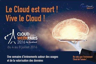 Cloud Week 2016 : Assistez à notre prochain webinar sur le Big Data