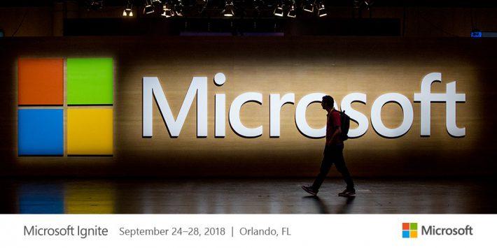 Conférence Microsoft Ignite 2017 : le point sur l'évolution de l'Offre Office 365 et ses applications