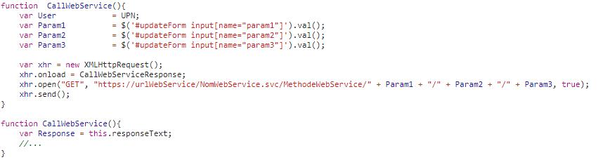webservice sharepoint online