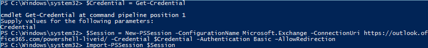 commande powershell sharepoint formulaire
