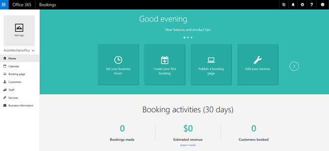 bookings accueil planning en ligne