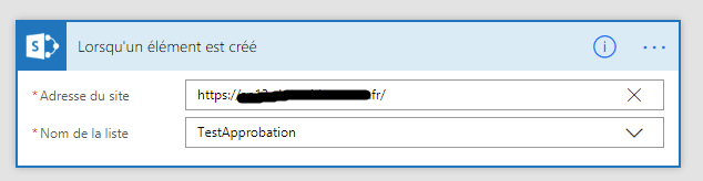 configuration url plateforme sharepoint