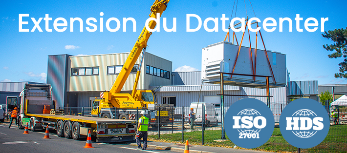 Un datacenter à Tours en pleine expansion