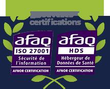 Nouvelles certifications : ISO 27001 et HDS