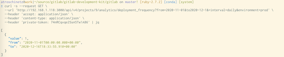 Gestion de la fréquence de déploiements par API